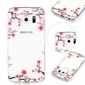 MOMDAD Coque Samsung Galaxy S7 Edge Cover Case Souple Transparent Etui Premium Gel Silicone Ultra Mince Housse Protection TPU Clair Adhérence parfaite Couvertue pour Samsung Galaxy S7 Edge Coque