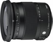 Sigma Objectif 17-70 mm F2,8-4 DC Macro OS HSM Contemporary - Monture Canon