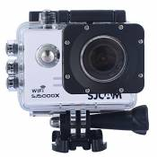 Sjcam Original Sj5000X Wifi Waterproof Action Camera with 12MP SONY IMX078 Gyro AV or HDMI Out And OSD Enabled (White)