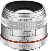PENTAX DA35mm F2.8 Macro Limited SILVER K-mount APS-C 21460 HD DA35F2.8MACRO Limited SL