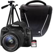 CANON EOS 100D + 18-55 IS STM + Trépied + Sacoche + Carte 8 Go