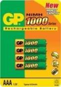GP 100AAAHC - Batterie 4 x type AAA NiMH (rechargeables) 1000 mAh