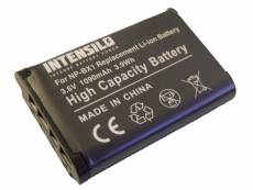 Batterie Li-Ion INTENSILO 1090mAh (3.6V) pour appareil photo, cam?scope Sony Camcorder HDR-GW66VE, HDR-GWP88, HDR-GWP88V. Remplace: NP-BX1.