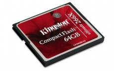 Kingston CF/64GB-U2 Carte CompactFlash Ultimate 266x - 64 Go