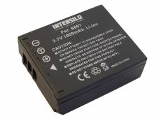 Batterie Li-Ion INTENSILO 1000mAh (3.7V) pour appareil photo camÈscope PANASONIC Lumix DMC-TZ4, DMC-TZ5, DMC-TZ11 comme CGA-S007, CGA-S007E, DMW-BCD10