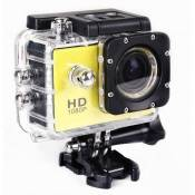 Camera full HD sport extreme 1080p + Micro SD 16gb Jaune