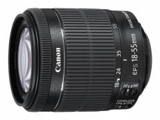 Objectif Canon EF-S - Fonction Zoom - 18 mm - 55 mm - f/3.5-5.6 IS STM - Canon EF/EF-S