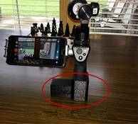 Junsi 3D Printed Handheld Gimbal Bracket Mount Adapter Stand Base for DJI OSMO Camera