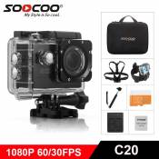 SOOCOO C20 WIFI 1080 P Full HD Action Caméra Sport HD DV étanche 170 Grand Angle Cam