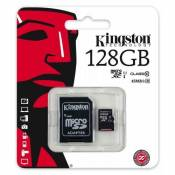Keple | Carte Mémoire pour Nintendo Switch Console Gamepad | 128GB Kingston Class 10 SDHC SDXC Micro SD