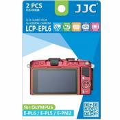 Lot de 2 films de protection pour Olympus E-PL5 / E-PL6 / E-PM2 (LCP-EPL6)