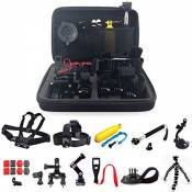 Gehoiya Accessories for GoPro,GoPro Accessories in in Traveling Diving Surfing Cycling Camping