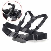 Harnais Ajustable Support Fixation Poitrine Sangle Ceinture + Base pour GoPro HD HERO 2 3