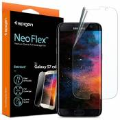 Spigen® Protection ecran Galaxy S7 Edge, Neo Flex TPU Film Samsung S7 Edge Film Protection Ultra Resistant aux Rayures TPU Film pour Samsung Galaxy S7