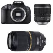 CANON EOS 700D + 15-85 IS + TAMRON 70-300 VC USD