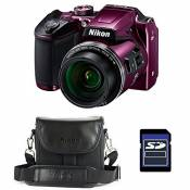 NIKON Bridge Coolpix B500 VIOLET + Etui + Carte SD 4 Go