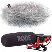 Rode VideoMic Rycote Microphone directionnel keepdrum WS en Brise vent WH