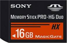 Sony MSHX16G Memory Stick PRO-HG Duo 16 Go + adaptateur USB (Import Royaume Uni)