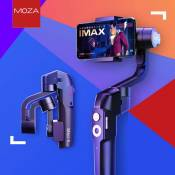 Generic MOZA Mini-S Gimbal Foldable Extendable 3 Axis Smartphone Stabilizer