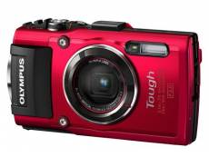 Appareil Photo Compact Olympus Stylus TG-4 Rouge