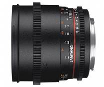 Samyang Objectif 85 mm T1.5 AS IF UMC VDSLR II Micro 4/3