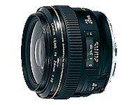 Objectif Canon EF - Fonction Grand angle - 28 mm - f/1.8 USM - Canon EF - pour EOS 1000, 1D, 50, 500, 5D, 7D, Kiss F, Kiss X2, Kiss X3, Rebel T1i, Reb