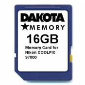 16GB Memory Card for Nikon COOLPIX S7000