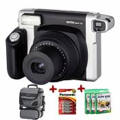 Bundle Fujifilm Instax 300 Wide Instant Camera +70-Shot Fuji Wide Film + Smart Carry Case + Panasonic Gold Batteries