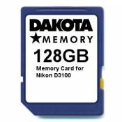 128GB Memory Card for Nikon D3100