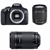 CANON EOS 1300D + 18-55 IS STM + 55-250 IS STM