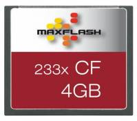 Technaxx Carte mémoire Maxflash Compact Flash (CF) 233x 4 Go