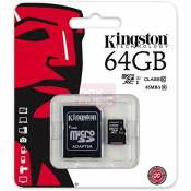 King-HighTech Carte Memoire Kingston 64 GO Classe 10 pour Samsung Galaxy XCover 3