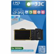 Lot de 2 films de protection pour Sigma DP Quattro (LCP-DP2Q)