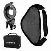 "Neewer 32x32"" Softbox Photo Studio Multifonctionnel avec S-type Support de Montage de Flash Speedlite et Etui de Transport pour Photographie de Portra"