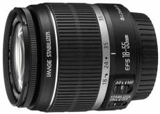 Canon EF-S IS 18 - 55 mm f/3.5 - 5.6