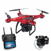 Drone ATOUP G8, Caméra Grand Angle 1080p - 2 batteries - Rouge