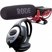 Rode VideoMic Rycote Microphone directionnel + Casque keepdrum