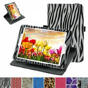 """Rotating Coque Pour Asus ZenPad S 8.0 Z580C,Mama Mouth 360 Degree Rotating PU Cuir debout Fonction Housse Coque Étui Couverture pour 8"""" Asus ZenPad S"""