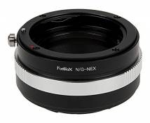 Fotodiox Lens Mount Adapter Compatible with Nikon F-Mount G-Type Lenses on Sony E-Mount Cameras