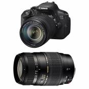 CANON EOS 700D + 18-135 IS STM + TAMRON 70-300 DI
