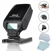 Meike MK-320S TTL GN32 flash Speedlite for Sony A7 A7R A7S A7 II A77 II A6000 NEX-6 A58 A99 RX1 RX1R RX10 RX100 II RX100 III + Mcoplus Cleaning Cloth(MK-320S)