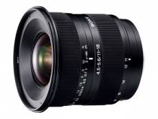 Sony SAL1118 - Objectif zoom grand angle - 11 mm - 18 mm - f/4.5-5.6 DT - Minolta A-type - pour a DSLR-A100, A200, A230, A300, A330, A350, A380, A500, A550, A700, SLT-A57, A58, A65; a58