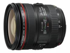 Objectif Canon EF - Fonction Zoom - 24 mm - 70 mm - f/4.0 L IS USM - Canon EF