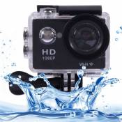 (#33) Sports Cam Full HD 1080P H.264 1.5 inch LCD WiFi Edition Sports Camera with 170-degree Wide-angle Lens, Support 30m Waterproof(Black)