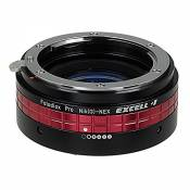 Fotodiox pro nikon g (fX) excell 1 lentille pour appareil sony nEX-excell 1 nIK -nEX (g) fotodiox pro from (fX) objectifs nikon-g to nEX sony e-mount camera & justaucorps (sPG c such as nEX - 5, nEX - 7 & a6000) with focal reducing light gathering optics ouverture and control