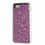 MUTOUREN Coque iPhone 6/6S Ultra Mince TPU Silicone Doux Anti-Rayures Coquille Anti-Choc Case Anti Scratch Cover Résistante Bling Couverture Sparkling