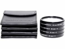 Kit Additionnel 1 4 2 4 dioptries et Macro Blackdove-cameras 55 mm avec protections.