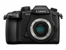 Panasonic Lumix G DC-GH5 - Appareil photo numérique - sans miroir - 20.3 MP - Four Thirds - 4K / 24 pi/s - corps uniquement - Wi-Fi, Bluetooth - noir