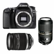 CANON EOS 80D + 18-200 IS + TAMRON 70-300 VC USD