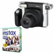 Fujifilm Instax 300 Wide Black Instant Camera Photo Picture + 20 Movies